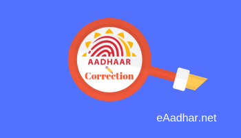 Aadhar Update & Correction
