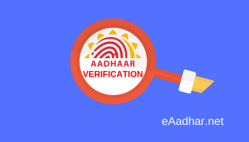 verify Aadhar Card online